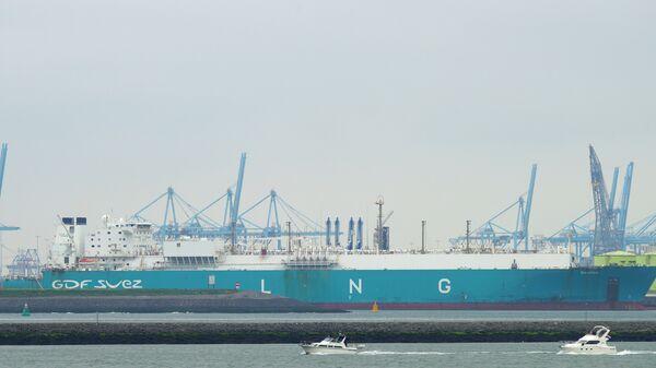LNG tanker Gaselys - Sputnik International