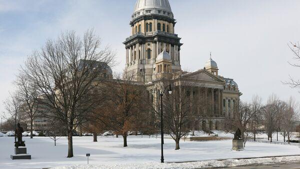 Illinois State Capitol in Springfield - Sputnik International
