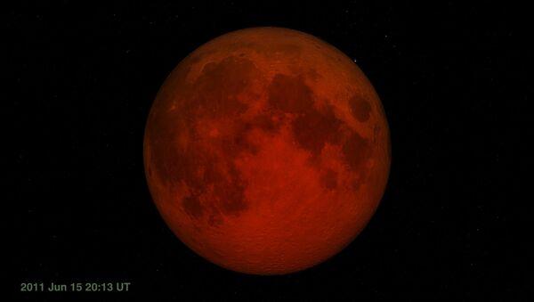 total lunar eclipse - Sputnik International