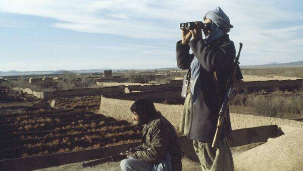 Afghan mujahedeen rebels in Afghanistan are shown, Feb. 10, 1980 - Sputnik International
