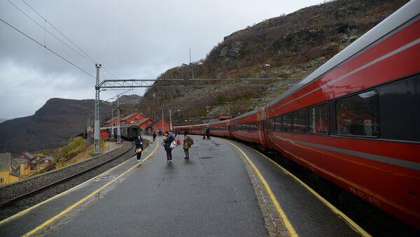 Railroad in Norway - Sputnik International