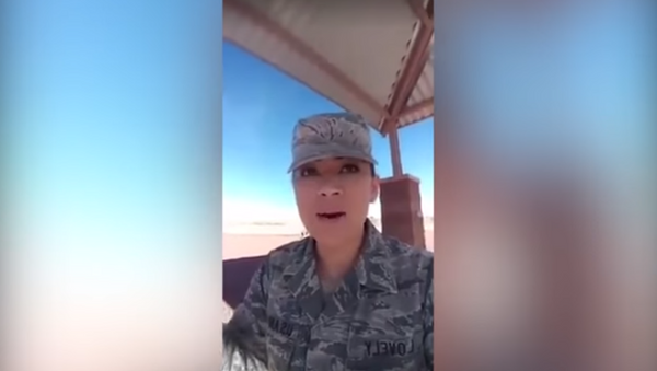 Technical Sergeant Geraldine Lovely gets suspended over racially charged rant on Facebook - Sputnik International
