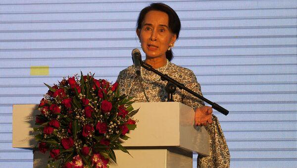 Myanmar's civilian leader Aung San Suu Kyi (File) - Sputnik International