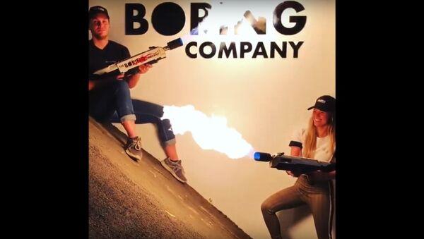 The Boring Company Flamethrower - Sputnik International