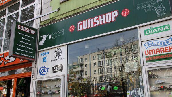 A Hamburg gunshop. File photo - Sputnik International