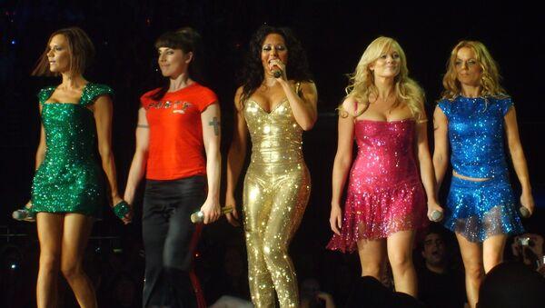 Spice Girls, Victoria Beckham, Melanie C, Melanie B, Emma Bunton and Geri Halliwell Perform on January 6th 2008 - Sputnik International