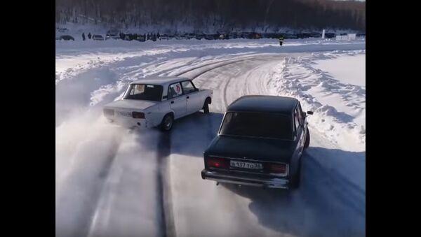 Second Winter Drift Championship in Russia - Sputnik International