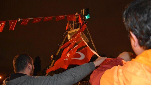 Turkish flags in Izmir, Turkey - Sputnik International