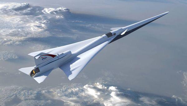 NASA's Quiet Supersonic Jet - Sputnik International