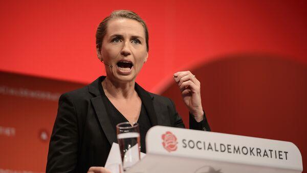 Danish Prime Minister Mette Frederiksen - Sputnik International