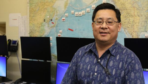 In this Feb. 1, 2018 photo, Jeffrey Wong, current operations officer for the Hawaii Emergency Management Agency, poses for a photo in Honolulu - Sputnik International