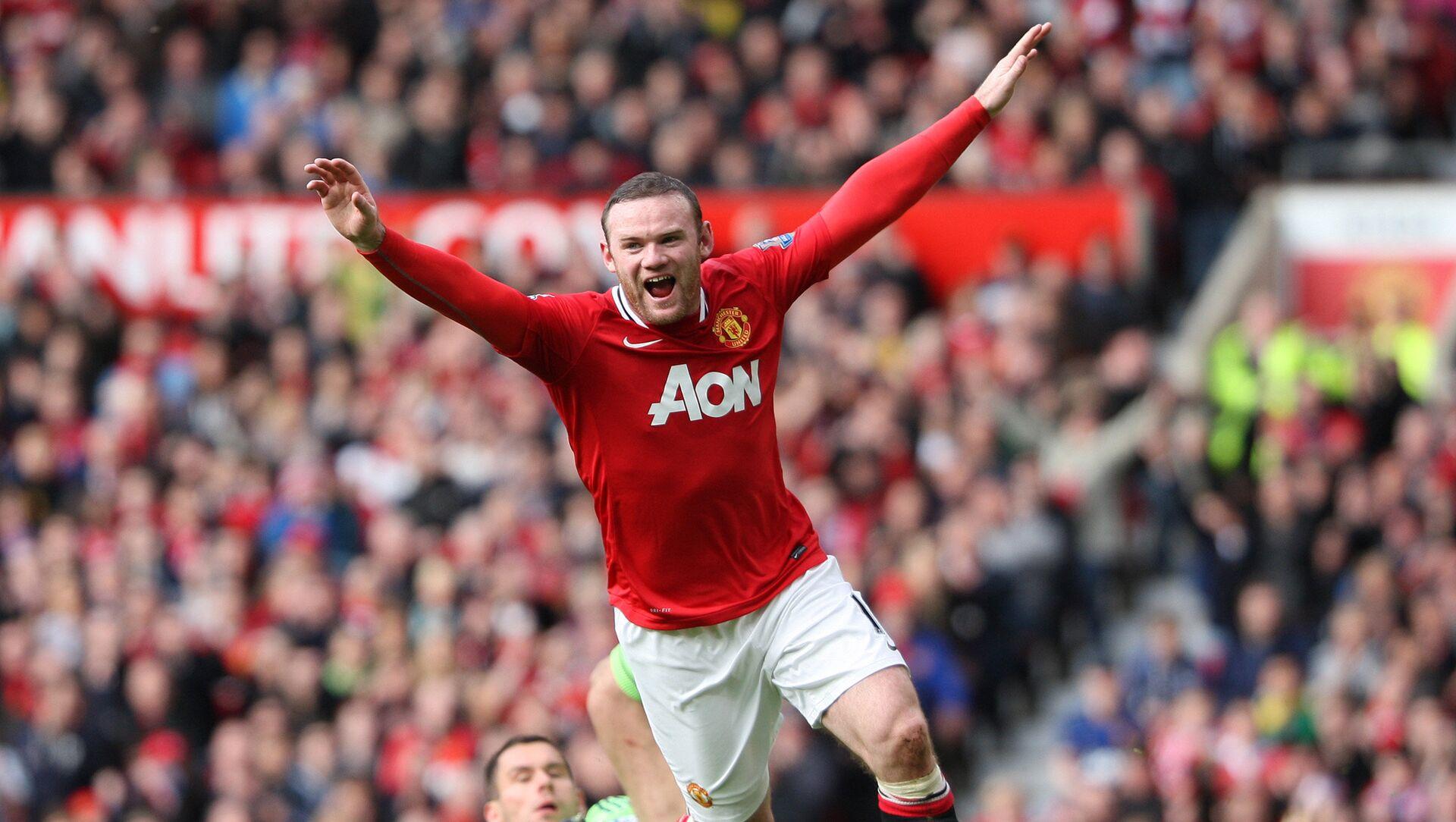 Manchester United's Wayne Rooney. (File) - Sputnik International, 1920, 26.07.2021