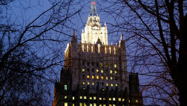 The Russian Foreign Ministry building. - Sputnik International