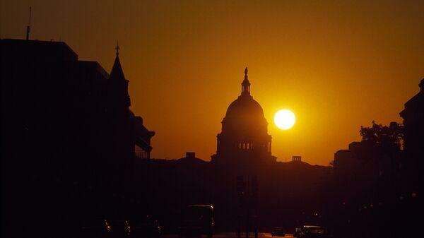 Capitol Washington sunset - Sputnik International