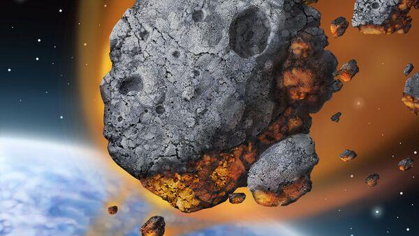 Meteor falling to Earth - Sputnik International