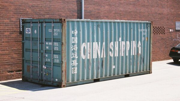 Shipping container - China Shipping - Sputnik International