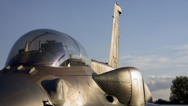 Israeli Air Force F-16 - Sputnik International