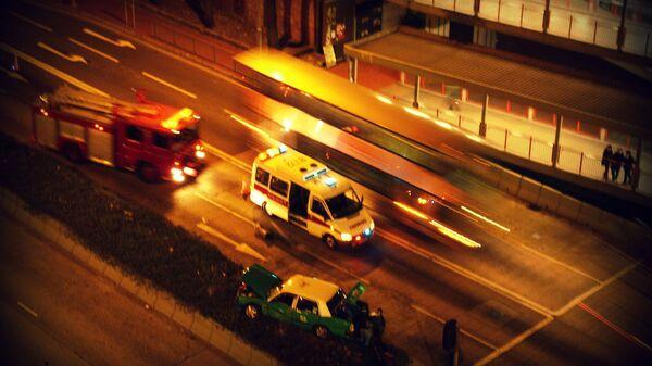 Hong Kong  ambulance - Sputnik International