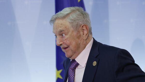 Hungarian-American investor George Soros (File) - Sputnik International