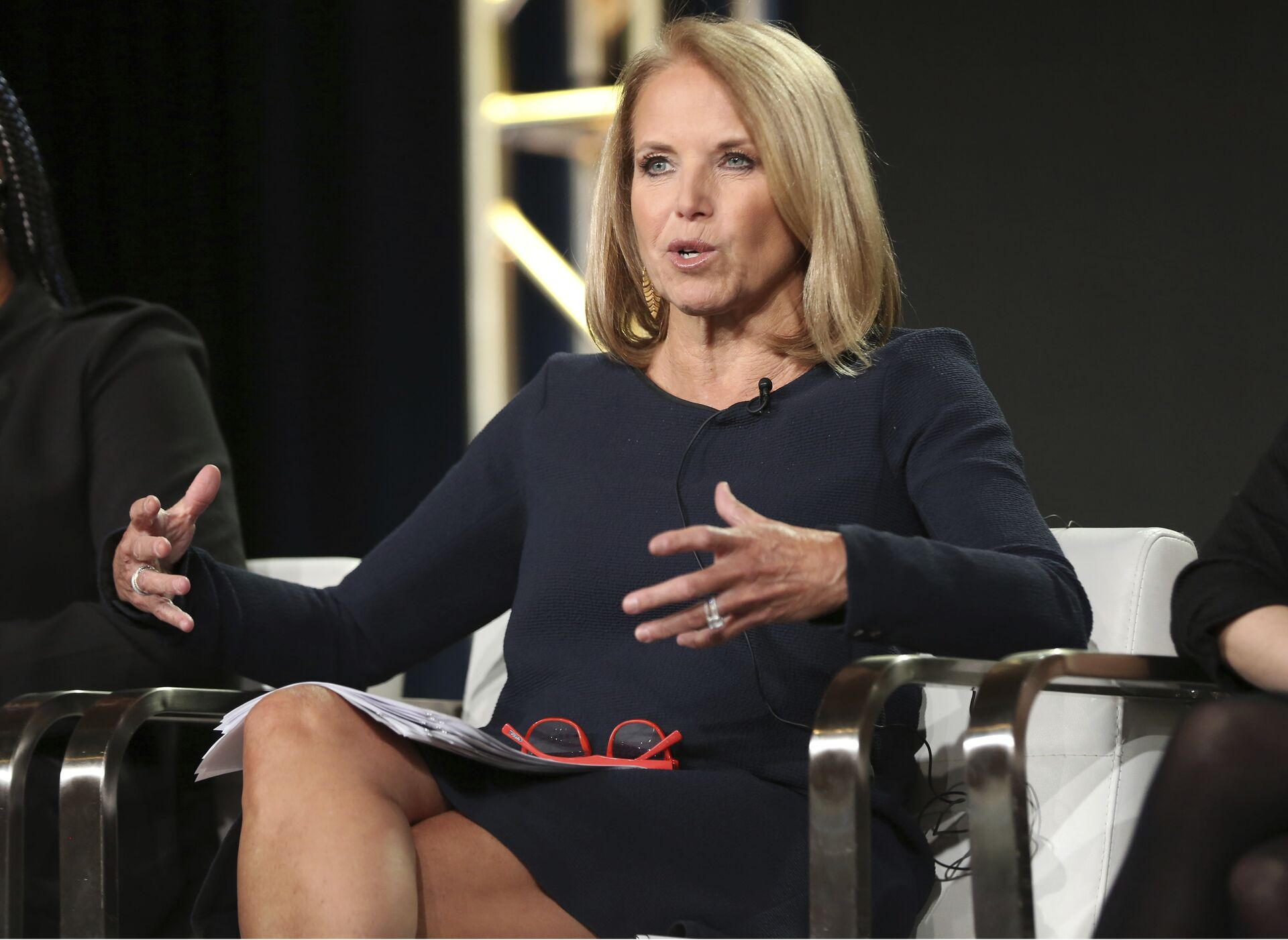 Katie Couric participates in the 'America Inside Out with Katie Kouric' panel during the National Geographic Television Critics Association Winter Press Tour on Saturday, Jan. 13, 2018, in Pasadena, Calif. - Sputnik International, 1920, 13.10.2021