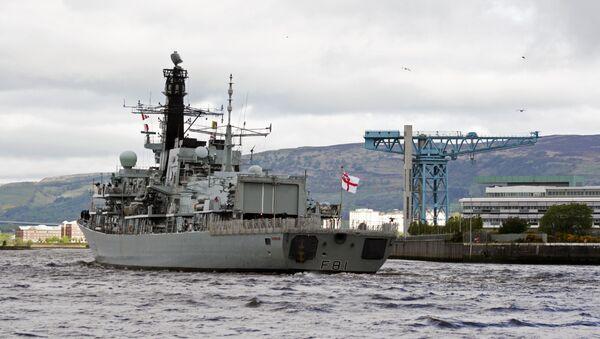 HMS Sutherland F81 - Sputnik International