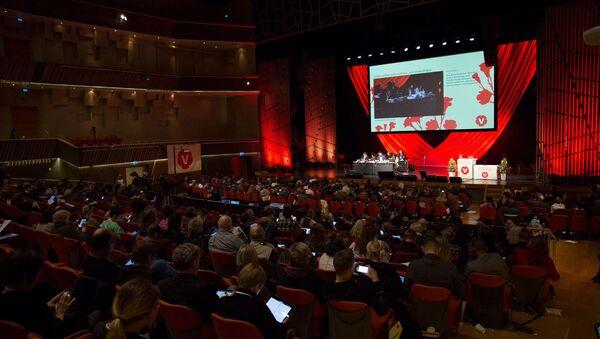 Vänsterpartiets kongress 2018 - Sputnik International