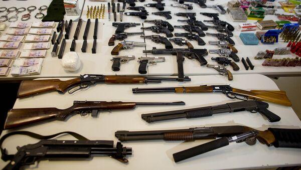 Weapons seized (photo used for illustration purpose) - Sputnik International