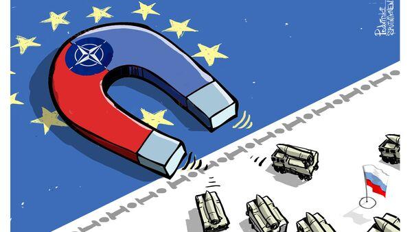 NATO cartoon - Sputnik International