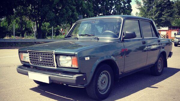 A passenger car VAZ-2107. (File) - Sputnik International