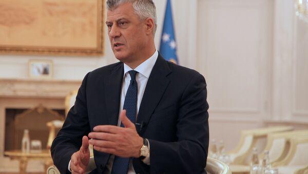 Kosovo's President Hashim Thaci - Sputnik International