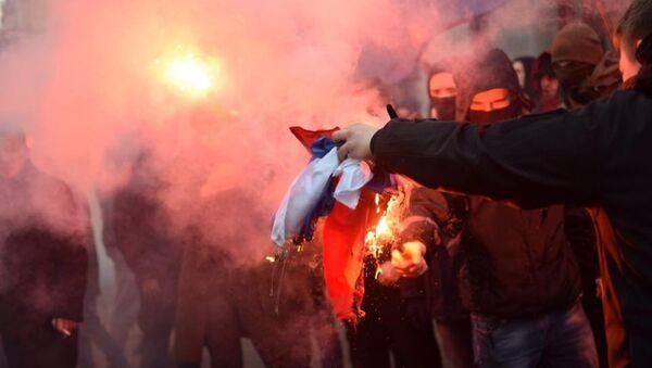 Погром в офисе Россотрудничества в Киеве - Sputnik International