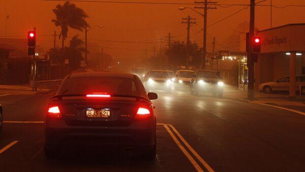 Dust storm in Australia (File) - Sputnik International