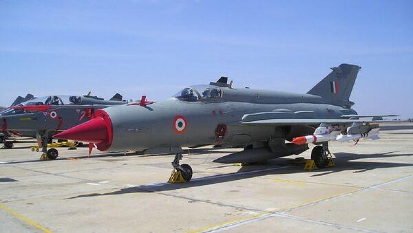 Indian Air Force MiG-21. (File) - Sputnik International