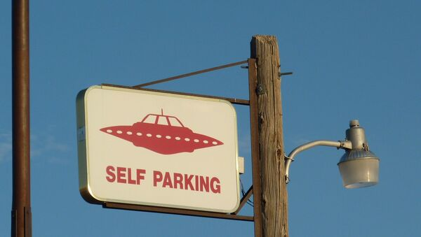 UFO self parking - Sputnik International