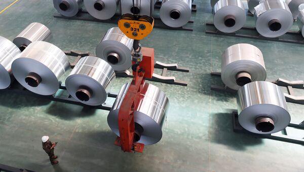 Aluminium-Herstellung in China - Sputnik International
