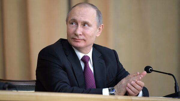 Vladimir Putin - Sputnik International