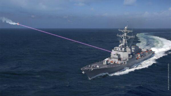 Lockheed Martin's Helios Laser - Sputnik International