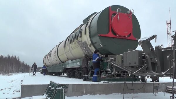 Russia's Sarmat ICBM - Sputnik International