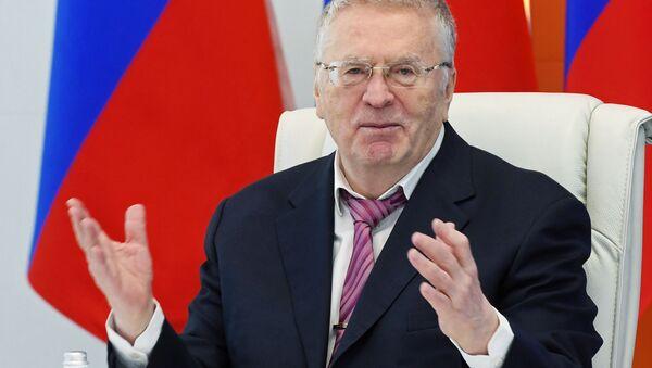 Vladimir Zhirinovsky: Industrialization Without Migrants - Sputnik International