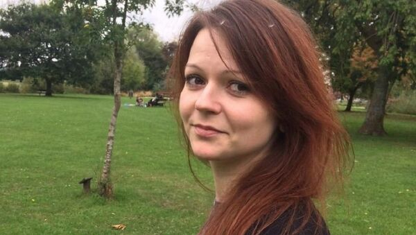 This is an alleged image of the daughter of former Russian Spy Sergei Skripal, Yulia Skripal taken from Yulia Skipal's Facebook account on Tuesday March 6, 2018 - Sputnik International