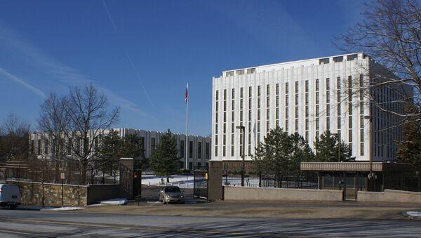 Embassy of Russia in Washington DC. Russia - Sputnik International