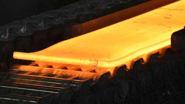 Red hot steel (File) - Sputnik International