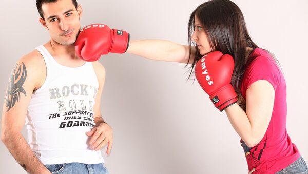 Couple fighting - Sputnik International