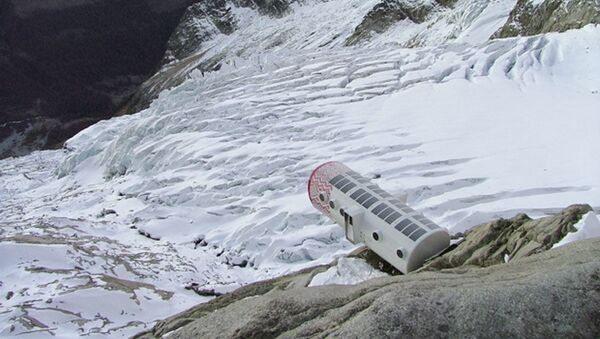 Bivacco Gervasutti, Mont Blanc, Италия - Sputnik International