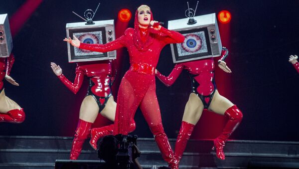 Katy Perry performs at Amalie Arena on Friday, Dec. 15, 2017, in Tampa, Fla. - Sputnik International