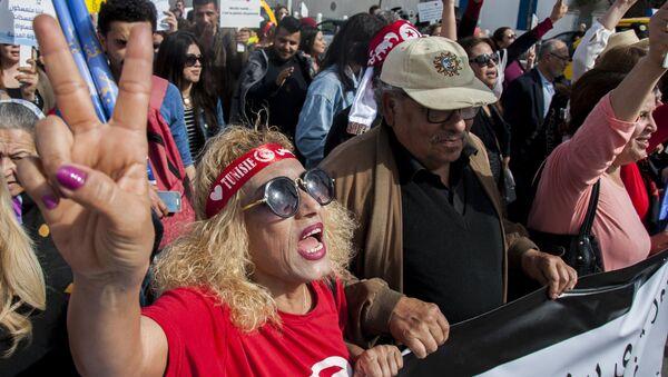 TUNISIA PROTESTS - Sputnik International