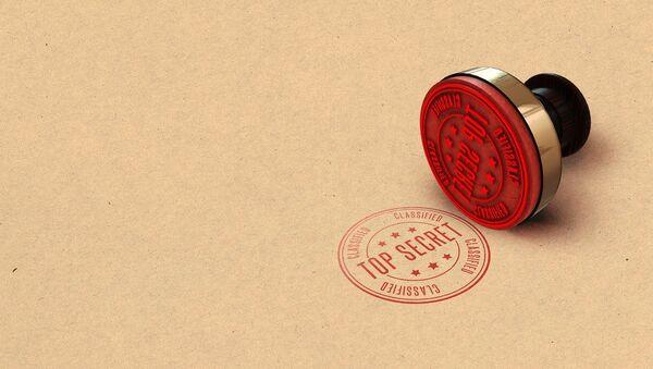 'Top Secret' stamp - Sputnik International