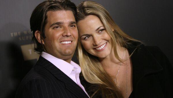 Trump Jr. and Vanessa Trump - Sputnik International