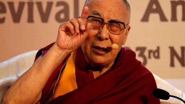 Tibetan spiritual leader, the Dalai Lama (File) - Sputnik International