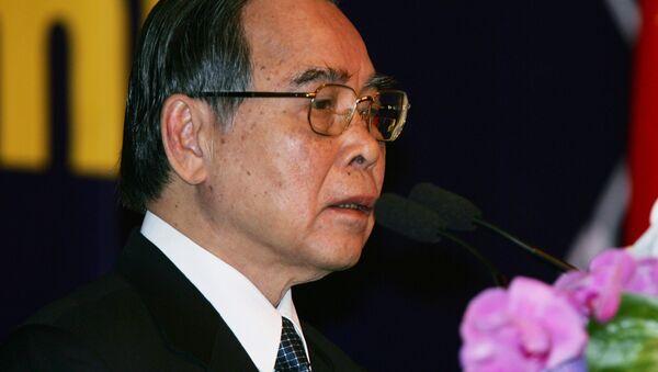 Vietnamese Prime Minister Phan Van Khai addresses Ayeyawidy Chao Phraya Mekong Economic Cooperation Strategy Summit at Government House in Bangkok, Thailand, Thursday, Nov. 3, 2005. - Sputnik International